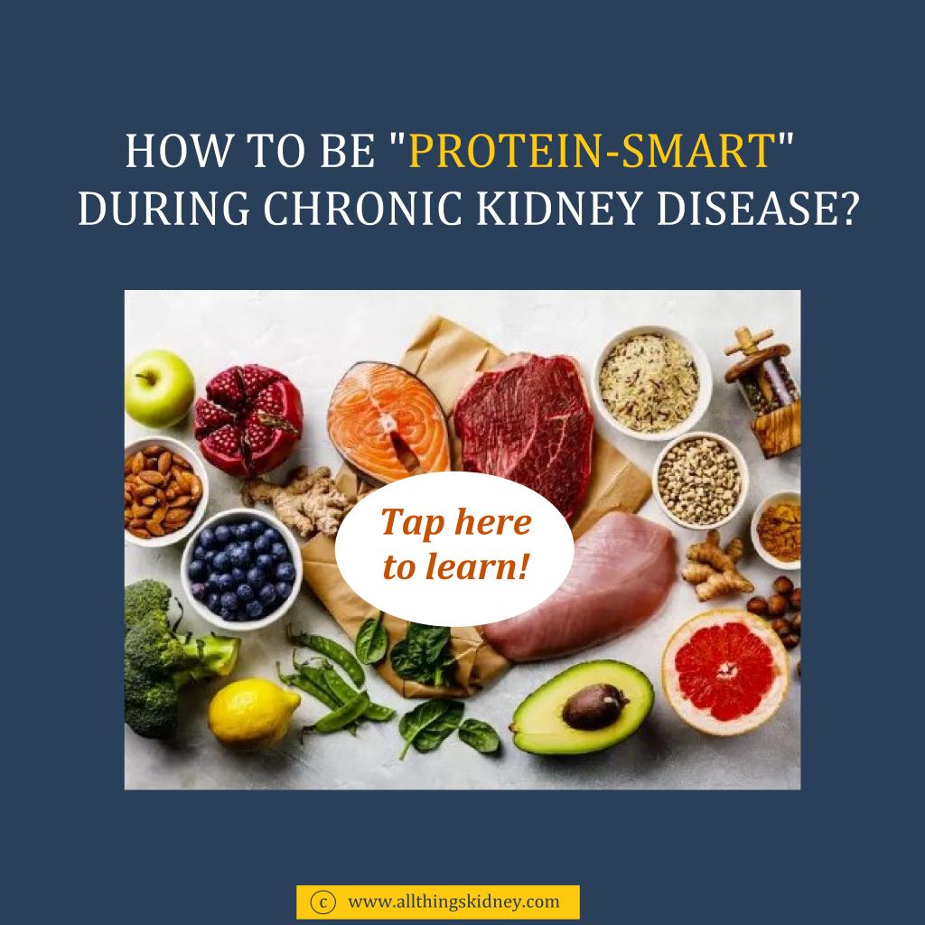 Protein in CKD
