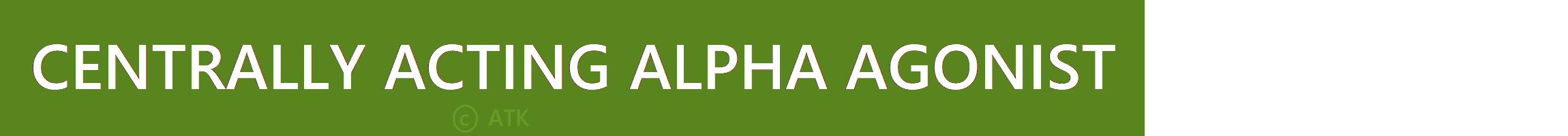 Alpha Agonist high blood pressure in CKD treatment www.allthingskidney.com
